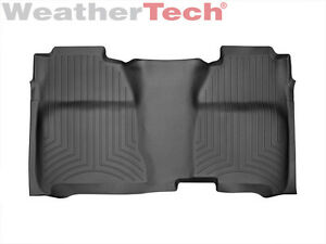 Weathertech Floor Mats Floorliner For Silverado Sierra Crew Cab 2nd Row Black