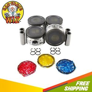 Pistons And Rings Fits 91 95 Toyota Previa 2 4l Dohc 16v 2tzfe Exc Supercharged