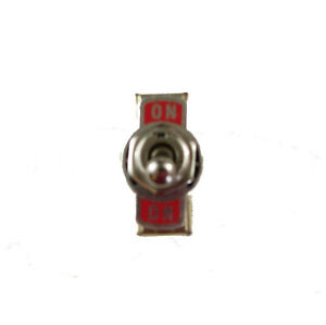 One Heavy Duty Full Size Toggle Switch Spdt On off on Sw116