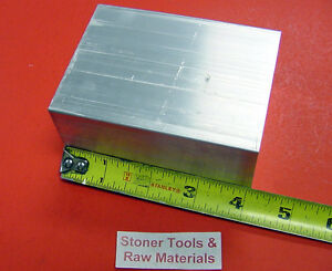 2 Pieces 2 X 4 x 3 1 2 Aluminum 6061 Flat Bar T6 2 00 Plate Solid Mill Stock