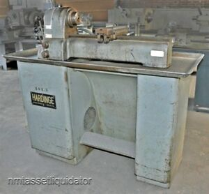 Hardinge Vbs 2nd Operation Lathe W Dovetail Bed Dbl Tool Cross slide as is