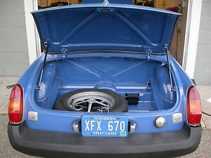 Mgb Boot Trunk Lift Kit Struts Springs Props Lift Support Shock Spring Rod Mgc