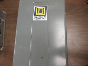 Square D Starter Enclosure Size 12 1 2 x7 1 2 x5 1 2 New Surplus