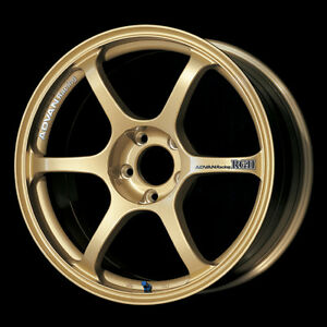 Advan Racing Rgii 17x8 0 45 Gold For 13 Subaru Brz scion Frs ft86 02 07 Wrx