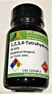 1 2 3 4 tetrahydronaphthalene 99 56 Analytical Reagent 30ml