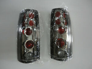 1988 1998 Chevy Truck Euro Smoked Taillights New Ctp 13452c Jn Free Shipping