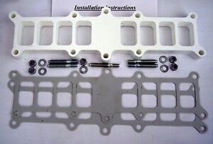 Edelbrock Performer 5 0 Ford Mustang 1 Fuel Injection Intake Manifold Spacer