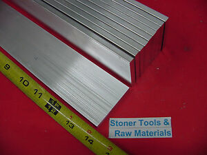 10 Pieces 1 4 X 2 Aluminum 6061 Flat Bar 14 Long T6511 25 Plate Mill Stock