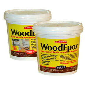 Abatron Woodepox Epoxy Wood Replacement Compound 2 Quarts
