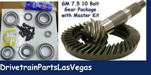 Ring And Pinion Pkg Master Bearing Rebuild Kit Gm 7 5 10 Bolt 3 73 Camaro S10