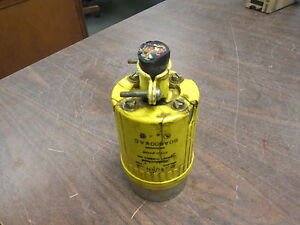 Hubbell Hubbellock Plug 60a 600v 4w chipped Casing Used