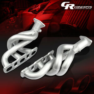 2x3 1 Paint Finished Manifold Header Exhaust For Nissan 03 06 350z Z33 G35 V35