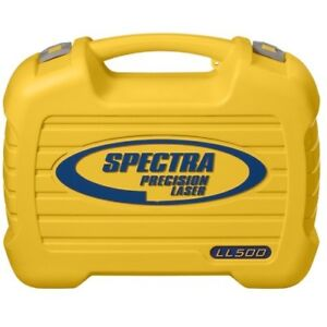 Spectra Precision Laser Level Ll500 Case