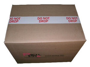 Do Not Drop Preprinted Sealing Packing Tape 2 X 110 Yards Pre printed 36 Rolls