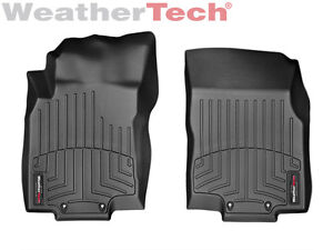 Weathertech Floor Mats Floorliner For Nissan Rogue 2014 2019 1st Row Black