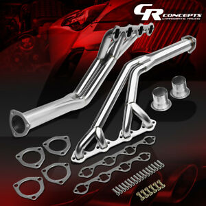 For 64 70 Ford Mustang 260 289 V8 Stainless Exhaust Manifold Try Y Header Gasket