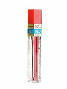 Ppr 7 Pentel Pencil Lead Refill 0 7mm Red Lead 12 Leads tube Pack Of 1 Tube
