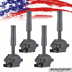 6 X Ignition Coil Pack For 02 05 Chevy Trailblazer Suv Gmc Canyon Envoy H3 Uf303