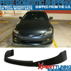 Fits 2003 2004 2005 Honda Accord 2dr Front Bumper Lip Spoiler Hfp style Urethane