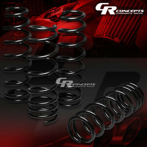 For 92 00 Honda Civic Del Sol Integra Coil Suspension Black Lowering Springs