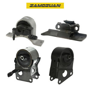 Oem Quality Motor Trans Mount Set 4pcs For 2003 2007 Nissan Murano 3 5l 2wd