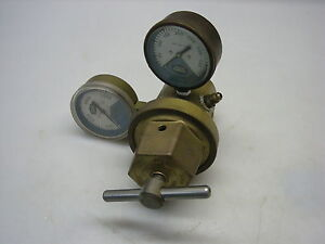 Linde Oxygen Regulator Model R 65 Missing Tank Stem