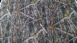 New Conceal True Timber Camouflage Auto Headliner Fabric 3 16 Foam Back By Yd