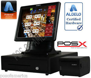 Aldelo Pro Pos x Cafe Buffet Restaurant All in one Complete Pos System New