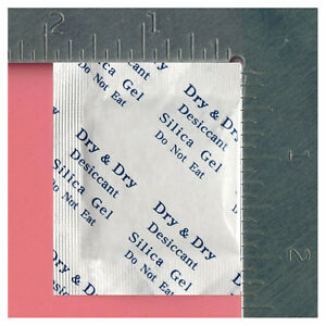 3 Gm X 1 000 Pk dry Dry Silica Gel Desiccant Packets reusable fda Compliant