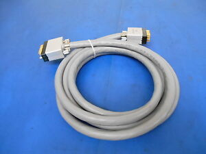 Amp 200517 1 Cable 2x 34 Pin Male To Male Connector 4