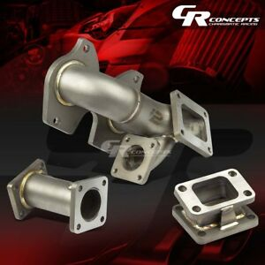 J2 Mazda Rx7 Fc3s S4 s5 Stainless T4 t04 Turbo Exhaust Manifold 5mm Thickness