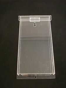 6 Pack Outdoor Brochure Holder Tri fold Flyer Box Clear Acrylic Azm Displays