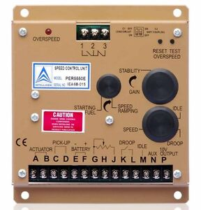 Electronic Engine Speed Controller Governor 5550e Generator Genset Parts