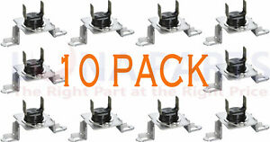10 Pack 6931el3003d Dryer Thermostat Thermal Fuse For Lg New Ps3530485 Ap44409
