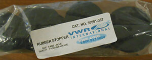 Vwr 59581 367 Size 8 One hole Rubber Stopper
