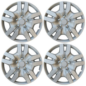 4 Pieces Aftermarket Wheel Covers 16 Inch Fits Steel Wheels Hub Cap Cover Caps