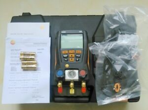 New Testo 550 Refrigerant Digital Manifold Tester For 0563 1550 2 Clamp Probes