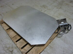 Avery Weigh tronix Scale Bs 24x24 N Used 53224