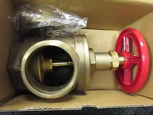 B h Fire Hose Angle Valve A97 Size 2 1 2 Male Nst Female Npt With Covers