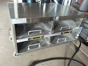 Duke Food Warmer Plate Dish Holding Unit Infra red Iru 22