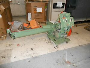Amacoil Machinery Auger Type Granulator 5hp Great Condition