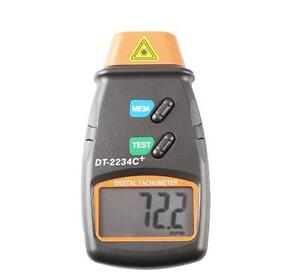 Non Contact Tach Tool Rpm Handheld Digital Photo Laser Tachometer Tester 99 999