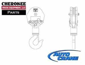 Auto Crane 480854000 Traveling Block Assembly