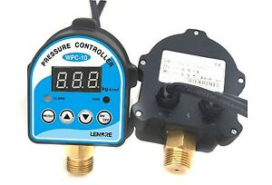 Wpc 10 G1 2 220v Auto Digital Electronic Water Pump Pressure Switch Controller