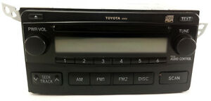 04 08 Toyota Matrix Radio Cd Player A51816 86120 02400