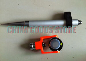 New Mini Prism And Mini Pole 5 8x11 Thread For Survey construction Total Station