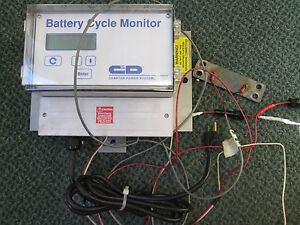 Charter Power Systems Battery Cycle Monitor Bcm1100 m Used