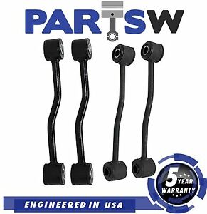 4 Pc Suspension Kit For Jeep Grand Cherokee Sway Bar End Links 5 Year Warranty