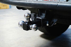 3 Ball Trialer 2 Hitch Standard Size Fits Most Truck Heavy Duty Easy Towing