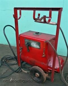 General Electric 200 Amp Portable Arc Welder Vintage Ge 6 Wd 3200 B1
